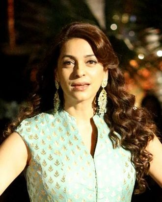 Juhi Chawla - Chawla at Lakme Fashion Week in 2017