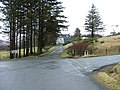 Junction at Peinmore - geograph.org.uk - 1117399.jpg