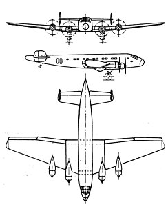 Junkers Ju 90 3-view L'Aerophile October 1937.jpg