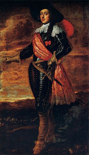 Mattias de' Medici - Portrait of Mattias de' Medici by Justus Sustermans