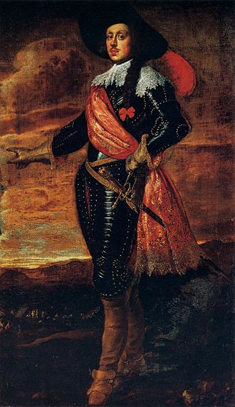 Mattias de' Medici - Portrait of Mattias de' Medici by Justus Sustermans