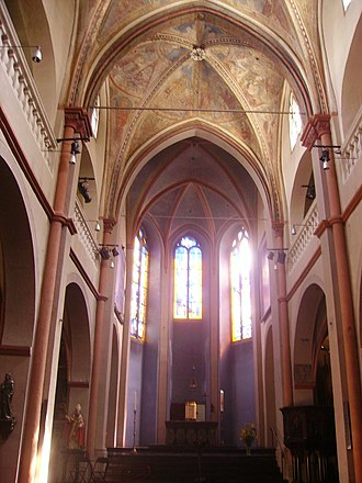 St. Maria Lyskirchen, Cologne - Image: Köln St. Maria in Lyskirchen Innen Langhaus