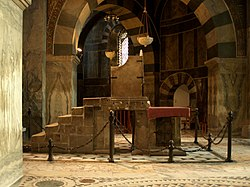 Throne of Charlemagne at Aachen Cathedral