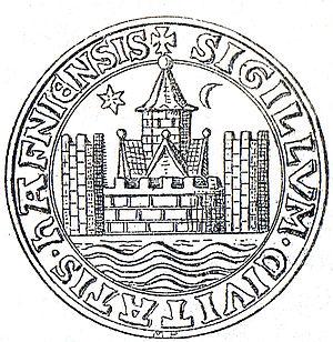 History of Copenhagen - Image: København segl 1296