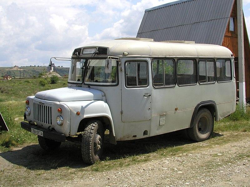 С 1971 года КАвЗ-685 начали