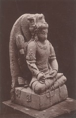 KITLV 87673 - Isidore van Kinsbergen - Hindu-Javanese sculpture coming from the Dijeng plateau - Before 1900.tif