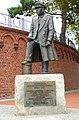 KOŁOBRZEG, pomnik Komandora Stanisława Mieszkowskiego.jpg