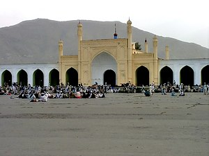 Id Gah Mosque - Id Gah Mosque in Kabul