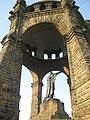 Kaiser-Wilhelm-Denkmal an der Porta Westfalica 20090411 013.JPG