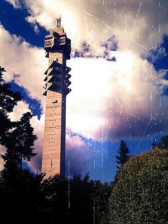 Kaknästornet - Image: Kaknästornet aug 2011