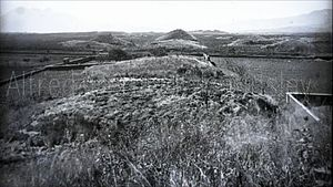 Kaminaljuyu - Archeological site in 1890. Photograph by Alfred Percival Maudslay.