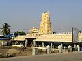 Kanipakam Temple Gopuram view.jpg