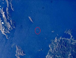 Imia/Kardak - Location of Imia/Kardak islets in Aegean Sea