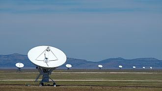 Socorro County, New Mexico - The Karl G. Jansky Very Large Array in Socorro County.