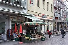 Karlsruhe, das Café Extrablatt.JPG