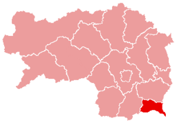 Bezirk Radkersburg location map