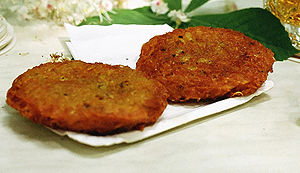 Potato pancake - Potato pancakes from Austria