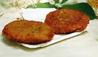 Potato pancake - Potato pancakes from Austria