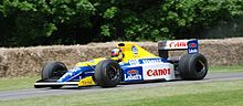 Karun Chandhok Williams FW13 Goodwood 2016 001.jpg