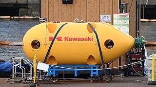 Kawasaki Prototype AUV at Kawasaki Heavy Industries Kobe Shipyard October 4, 2020 01.jpg