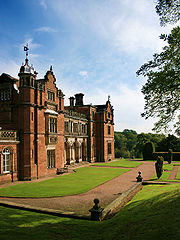 Keele Hall, formerly the ancestral home of the Sneyd family; now part of Keele University.