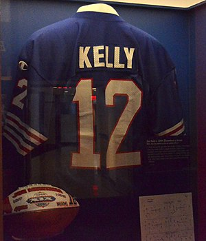 Jim Kelly - Image: Kelly HOF jersey