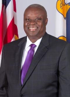A smiling Kenneth Mapp
