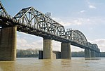 Kentucky and Indiana Bridge seen from New Albany Indiana in February 2006 a6b001.jpg