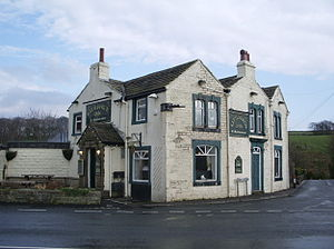 Kettledrum (horse) - Kettledrum Inn in Mereclough named after the Derby winner
