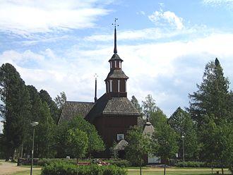 Keuruu - The old church of Keuruu