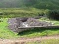 Killilan-Iron Lodge track, rebuilt banks of mountain stream - geograph.org.uk - 969813.jpg