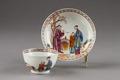 Kinesisk kopp och fat från cirka 1770-1780 - Hallwylska museet - 96105.tif