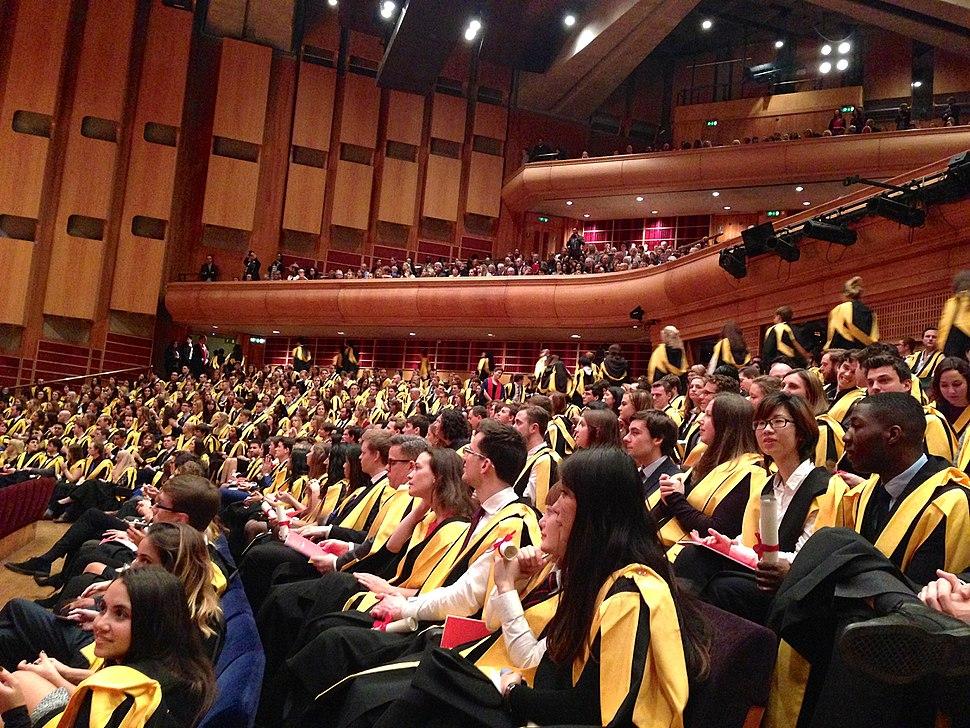 King's College London graduands