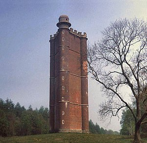 Battle of Edington - Image: King Alfred's Tower, Stourhead, Somerset