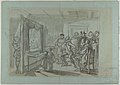 King Christian IV of Denmark Judging Christoffer Rosenkrantz; verso- Don Quixote and Others Attending Master Peter's Puppet Show MET DP838177.jpg