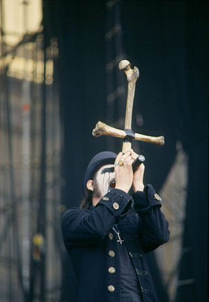 King Diamond, live (show of Mercyful Fate) in ...
