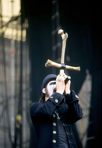 Mercyful Fate - King Diamond performing live with Mercyful Fate in Milan in 2006