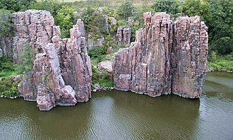 South Dakota Department of Game, Fish, and Parks - Image: King and Queen Rock