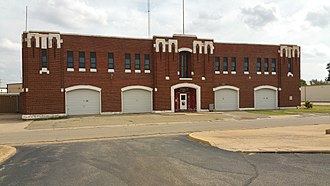 National Register of Historic Places listings in Kingfisher County, Oklahoma - Image: Kingfisher National Guard Armory front