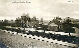 Hospital in Dundee, Scotland