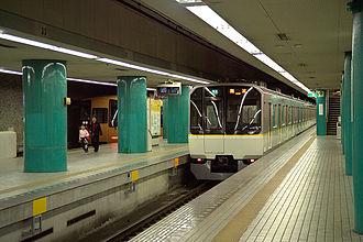 Kintetsu Group Holdings - Kintetsu Nara Station, where trains for Namba and Kyoto await departure