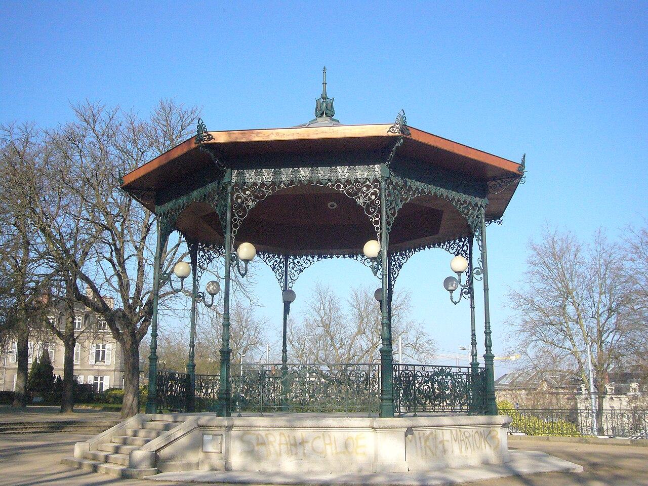 File kiosque musique jardin d 39 orsay limoges jpg wikimedia commons - Jardin mediterraneen limoges ...