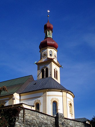 Fulpmes - Image: Kirche Fulpmes