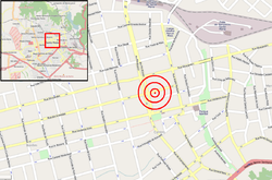 Kiss nightclub fire - location map 01.png