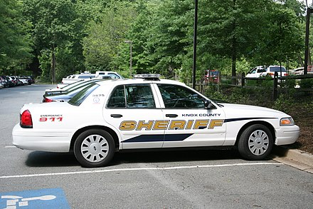 Knox County, Tennessee sheriff's vehicle Knox County Sheriffs Office (3580515538).jpg