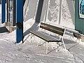 Kolari railway station bench 20210307.jpg