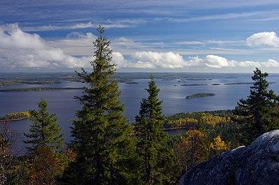Nationalparken Koli i norra Karelen, Finland