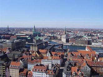 Largest metropolitan areas in the Nordic countries - Image: Kopenhagen Innenstadt