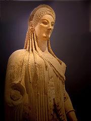 Kore (Acropolis Museum n. 682)