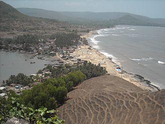 Korlai Fort - a view of korlai village from korlai fort